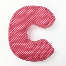 """Simplicity Letter Pillow """"C"""""""