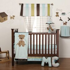 Puppy Pal Boy 4 Piece Crib Bedding Collection