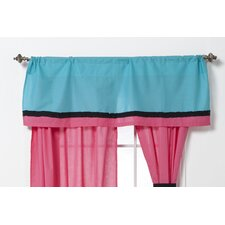 Magical Michayla Cotton Rod Pocket Tailored Curtain Valance