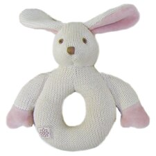 Nursery Bunny Knitted Teether