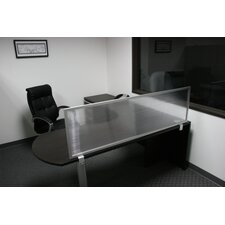 "18"" Desk Mounted Privacy Panel"