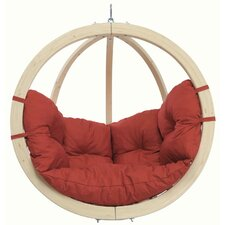 Kid's Globo Hanging Chair in Terracotta