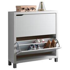 Baxton Studio Simms Shoe Cabinet II