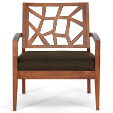 <strong>Wholesale Interiors</strong> Baxton Studio Jennifer Twill Lounge Chair
