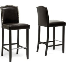 "<strong>Wholesale Interiors</strong> Baxton Studio Libra 30.5"" Bar Stool (Set of 2)"