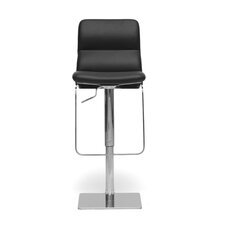 "<strong>Wholesale Interiors</strong> Baxton Studio Helsinki Modern 21.5"" Adjustable Swivel Bar Stool with Cushion"