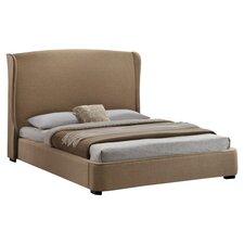 Baxton Studio Sheila Upholstered Platform Bed