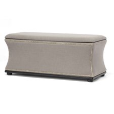Baxton Studio Liverpool Upholstered Storage Bench
