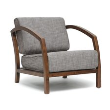 Baxton Studio Velda Modern Arm Chair