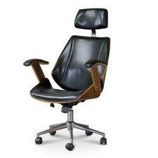 Baxton Studio Hamilton High-Back Office Chair