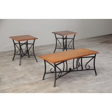 Trident 3 Piece Coffee Table Set