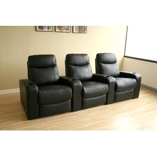 <strong>Wholesale Interiors</strong> Angus Home Theater Recliner (Row of 3)