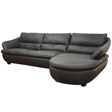Caramello Leather Sectional