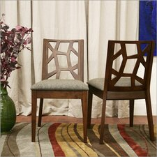 Baxton Studio Jenifer Side Chair (Set of 2)