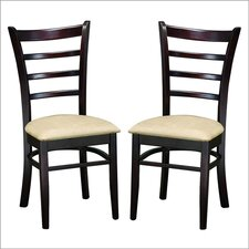 <strong>Wholesale Interiors</strong> Baxton Studio Lily Side Chair (Set of 2)