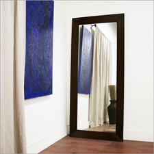 <strong>Wholesale Interiors</strong> Baxton Studio Daffodil Floor Mirror in Dark Brown