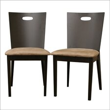 Baxton Studio Lamar Side Chair (Set of 2)
