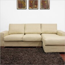Baxton Studio Campbell Twill Sectional