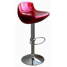 <strong>Wholesale Interiors</strong> Cornelius Swivel Bar Stool with Cushion (Set of 2)