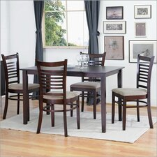 <strong>Wholesale Interiors</strong> Baxton Studio Cathy 5 Piece Modern Dining Set