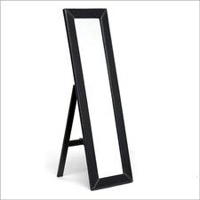 Baxton Studio McLean Modern Mirror with Built in Stand
