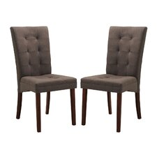 Baxton Studio Anne Parsons Chair (Set of 2)