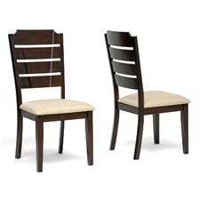 Baxton Studio Victoria Side Chair (Set of 2)