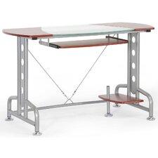 Braxton Studio Dahan Modern Computer Desk with Keyboard Tray