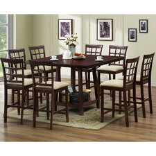 <strong>Wholesale Interiors</strong> Baxton Studio Katelyn 7 Piece Counter Height Dining Set