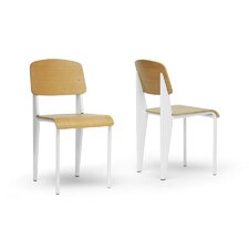 Baxton Studio Langsam Side Chair (Set of 2)