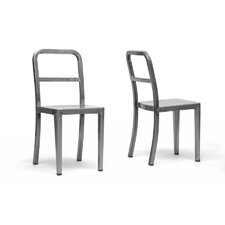 Baxton Studio Echo Side Chair (Set of 2)