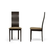 Baxton Studio Geneva Side Chair (Set of 2)