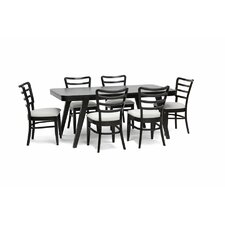 Baxton Studio Coventa 7 Piece Dining Set
