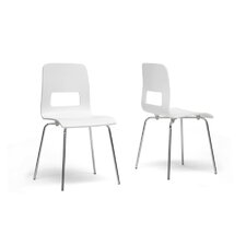 Baxton Studio Greta Side Chair (Set of 2)