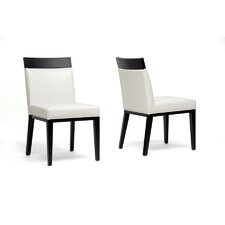 Baxton Studio Clymene Side Chair (Set of 2)