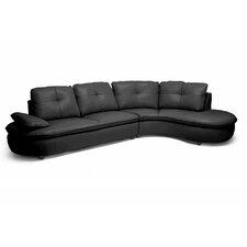 Baxton Studio Hilaria Modern Sectional Sofa