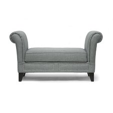 <strong>Wholesale Interiors</strong> Baxton Studio Marsha Upholstered Bedroom Bench