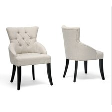 Baxton Studio Halifax Arm Chair (Set of 2)