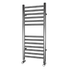 Dritto Straight Traditional Heated Towel Rail