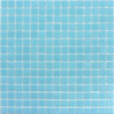 "<strong>Giorbello</strong> Classic Tesserae 12-7/8"" x 12-7/8"" Glass Tile in Light Blue"