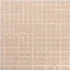 "<strong>Giorbello</strong> Classic Tesserae 12-7/8"" x 12-7/8"" Glass Tile in Iced Peach"