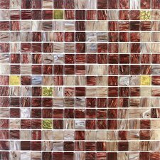 Golden Blends Glass Tile in Mahogany Bullion