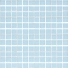 "<strong>Giorbello</strong> Cristezza Select 11-3/4"" x 11-3/4"" Glass Tile in Baby Blue"