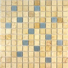 "Quarry 11-3/4"" x 11-3/4"" Stone Tile in Egyptian Yellow"