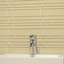 "<strong>Giorbello</strong> Club 10-1/2"" x 9-1/2"" Cristezza Glass Tile in Beige"