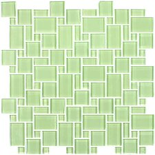 "<strong>Giorbello</strong> Unity 12-3/5"" x 12-3/5"" Cristezza Tile in Light Olive"
