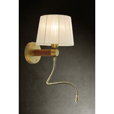 CL4 2 Light Wall Lamp with Reading Light