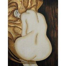 "Gemälde ""Klimt 6"" - 102 x 76 cm"