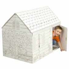 <strong>My Very Own House</strong> Hide and Seek Playhouse with Washable Markers