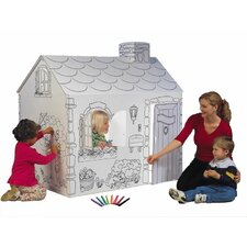 Cottage Playhouse with Washable Markers